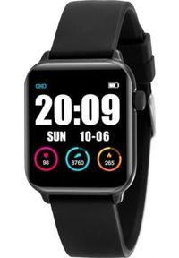Smartwatch Rubicon KW37 Czarny (RNCE57BIBX05AX). Rodzaj zegarka: smartwatch. Kolor: czarny