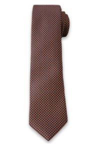Elegancki Krawat Męski w Drobne Groszki, Kropki - 6 cm - Alties, Kolorowy. Materiał: tkanina. Wzór: kropki, grochy, kolorowy. Styl: elegancki