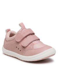 Nelli Blu - Sneakersy NELLI BLU - CM00887-04 Pink. Okazja: na spacer. Zapięcie: rzepy. Kolor: różowy. Materiał: skóra ekologiczna, materiał. Szerokość cholewki: normalna