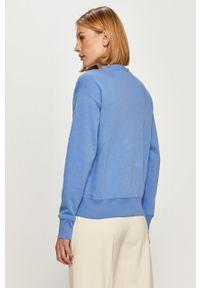 Niebieska bluza Polo Ralph Lauren casualowa, polo, na co dzień