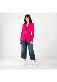 """Pinko Jeansy """"Penny"""". Okazja: na co dzień. Stan: podwyższony. Materiał: jeans. Styl: casual"""