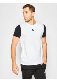 Biały t-shirt Puma