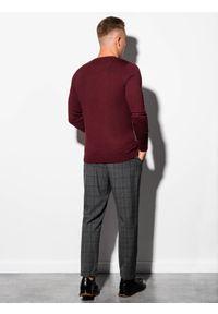 Czerwony sweter Ombre Clothing klasyczny