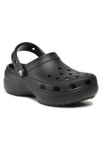 Crocs Klapki Classic Platform Clog 206750 Czarny. Kolor: czarny. Obcas: na platformie