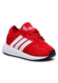 Adidas - adidas Buty Swift Run X I FY2185 Czerwony. Kolor: czerwony. Sport: bieganie