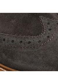 Szare buty zimowe Bugatti z cholewką, klasyczne