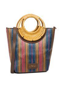 Brązowa torebka klasyczna Nobo klasyczna