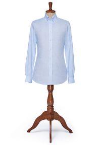 Niebieska koszula Lancerto button down, vintage
