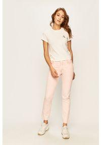 Różowe jeansy Levi's Made & Crafted
