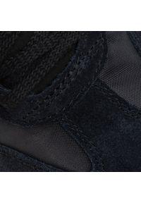 Czarne półbuty Onitsuka Tiger klasyczne, z cholewką