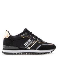 Big-Star - Sneakersy BIG STAR - HH274272 Black. Okazja: na co dzień. Kolor: czarny. Materiał: skóra, materiał, zamsz. Szerokość cholewki: normalna. Sezon: lato. Styl: casual