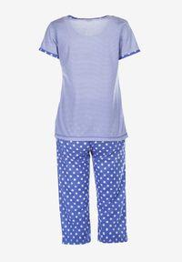 Born2be - Niebieski Komplet Piżamowy Petolaeno. Kolor: niebieski