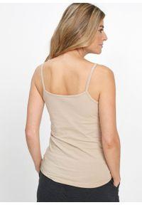 Biały top bonprix na ramiączkach