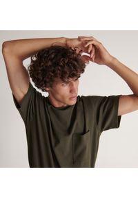 Reserved - Piżama dwuczęściowa - Khaki. Kolor: brązowy