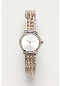 Srebrny zegarek Calvin Klein