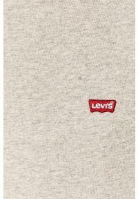 Levi's® - Levi's - Longsleeve. Okazja: na co dzień, na spotkanie biznesowe. Kolor: szary. Materiał: dzianina. Długość rękawa: długi rękaw. Styl: biznesowy, casual