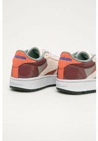 Reebok Classic - Buty CLUB C DOUBLE. Nosek buta: okrągły. Zapięcie: sznurówki. Materiał: guma. Model: Reebok Classic, Reebok Club