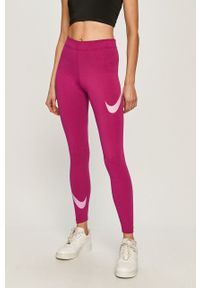 Różowe legginsy Nike Sportswear z nadrukiem