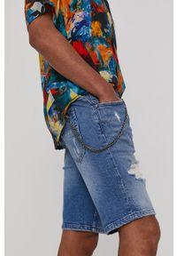 medicine - Medicine - Szorty jeansowe Summer Vibes. Okazja: na co dzień. Kolor: niebieski. Materiał: jeans. Styl: casual