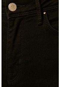 Czarne spodnie materiałowe only