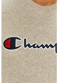 Champion - Bluza. Okazja: na co dzień. Kolor: szary. Wzór: aplikacja. Styl: casual