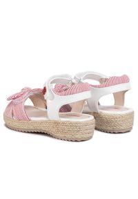 Białe sandały Mayoral