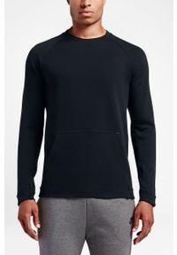 Czarna bluza nierozpinana Nike bez kaptura, na co dzień, casualowa