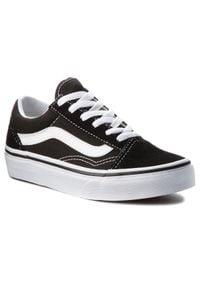 Vans - Tenisówki VANS - Old Skool VN000W9T6BT Black/True White. Kolor: czarny. Materiał: zamsz, materiał, skóra. Szerokość cholewki: normalna