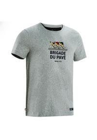 "VAN RYSEL - Koszulka Z Kolekcji ""Brigade Du Pavé"". Sport: kolarstwo"