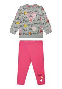 Guess Komplet bluza i legginsy A1RG00 KAEF0 Kolorowy Regular Fit. Wzór: kolorowy