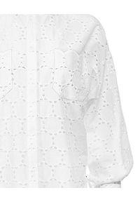 ANIA KUCZYŃSKA - Koszula z koronki Tramontana Bianca. Kolor: biały. Materiał: koronka. Długość: długie. Wzór: koronka. Styl: retro