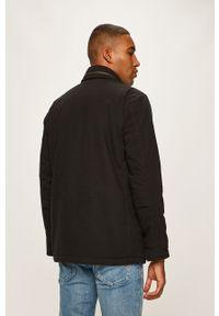 Czarna kurtka Levi's® z kapturem, biznesowa, na spotkanie biznesowe