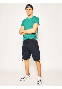 Zielony t-shirt Fila