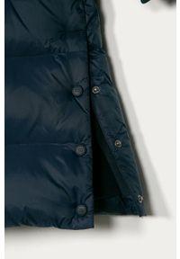 Niebieska kurtka TOMMY HILFIGER z kapturem, casualowa, na co dzień