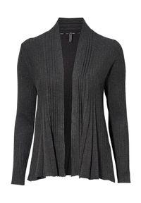 Szary sweter Freequent melanż, krótki