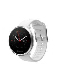 Biały zegarek POLAR cyfrowy, sportowy