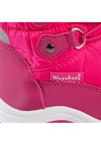 Różowe trapery Playshoes