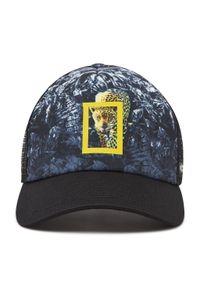 Buff - Czapka z daszkiem BUFF - Trucker Cap 125444.999.30.00 Howey Black. Kolor: czarny. Materiał: materiał, poliester, elastan