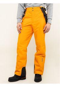 Pomarańczowe spodnie sportowe Colmar narciarskie