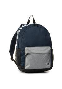 Plecak DC - EDYBP03202 BTL0. Kolor: niebieski. Materiał: materiał