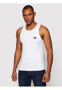 Biały podkoszulek Emporio Armani Underwear