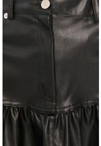 Czarna spódnica Answear Lab wakacyjna, na co dzień