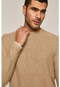 Sweter medicine na co dzień, długi, z długim rękawem, casualowy