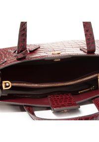 Czerwona torebka klasyczna Tory Burch klasyczna