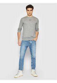 Armani Exchange Sweter 6KZM1H ZMW8Z 3907 Szary Regular Fit. Kolor: szary