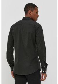 Only & Sons - Koszula bawełniana. Typ kołnierza: button down. Kolor: zielony. Materiał: bawełna. Długość rękawa: długi rękaw. Długość: długie