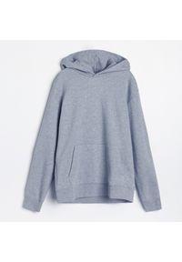 Reserved - PREMIUM Bluza z bawełny organicznej - Jasny szary. Kolor: szary. Materiał: bawełna