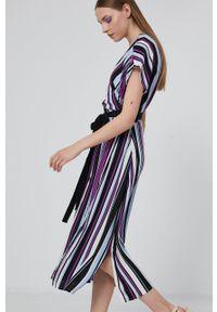medicine - Medicine - Sukienka Staycation. Materiał: tkanina. Długość rękawa: krótki rękaw. Typ sukienki: rozkloszowane