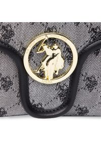 U.S. Polo Assn - Torebka U.S. POLO ASSN. - Lady Lake S Flap Bag BEUKG5230WJP000 Black. Kolor: szary. Materiał: skórzane #5