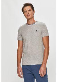 Szary t-shirt Polo Ralph Lauren polo, casualowy